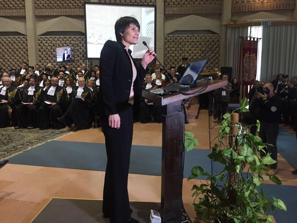 Astrosamantha apre l'Anno accademico dell'Università di Perugia:
