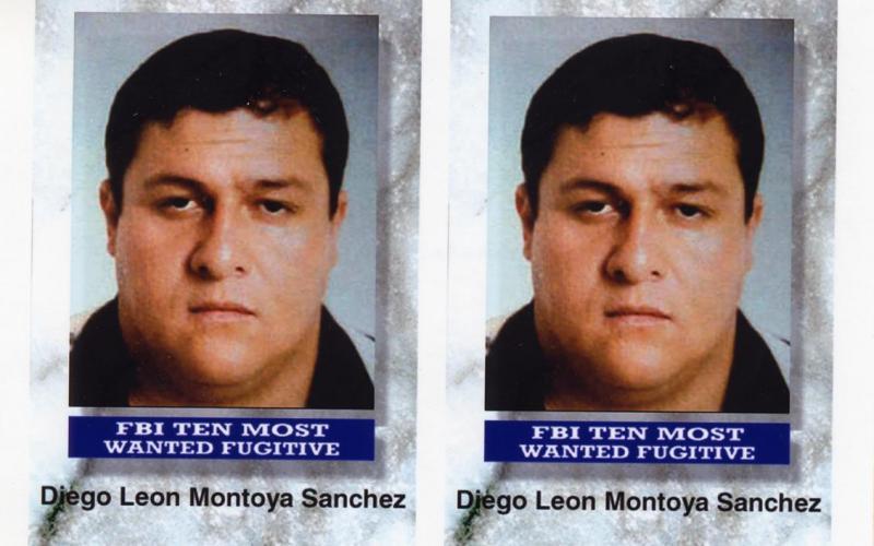Il boss Diego Leon Montoya Sanchez in una foto segnaletica dell'FBI