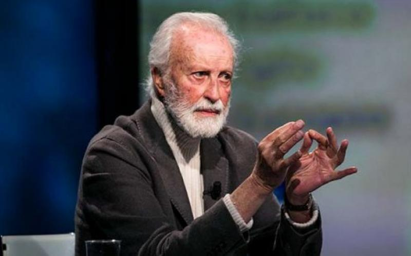 Eugenio Scalfari (foto La Repubblica)