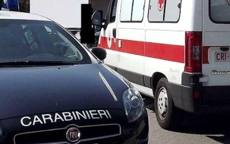 carabinieri ed ambulanza