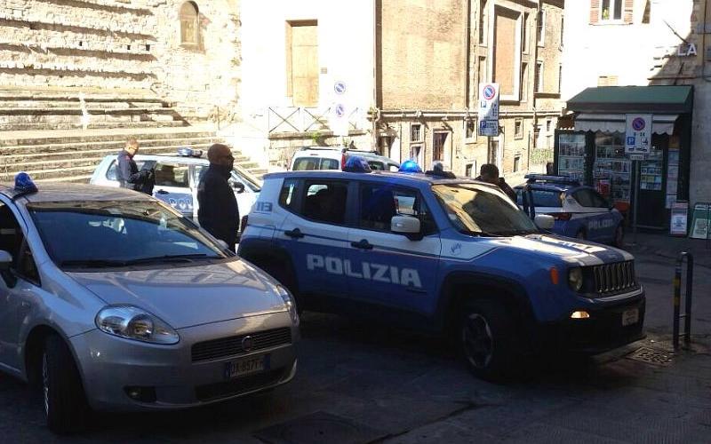 Perugia Centro, Polizia