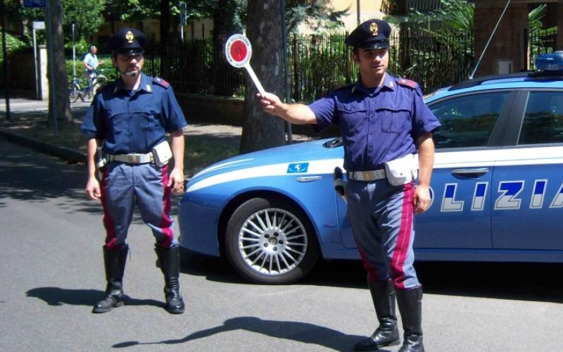 Polizia blicco