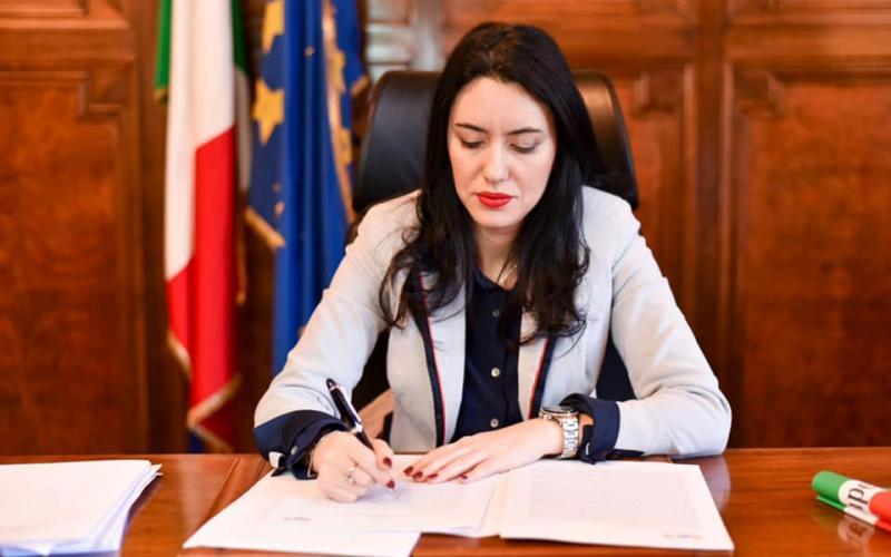 Il ministro Lucia Azzolina