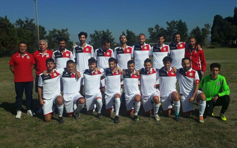 La prima squadra di calcio a 11 dell'Orvieto Fc