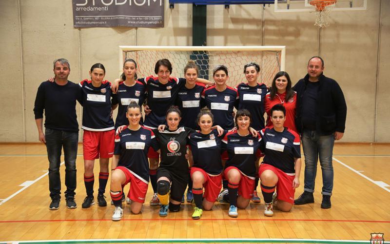 La squadra femminile di Calcio a 5