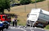 Incidente camion Gesenu