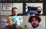 Le segreterie regionali in conferenza online
