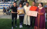 La premiazione della contrada Santa Maria