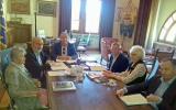 I delegati ricevuti stamattina dal presidente Lattanzi