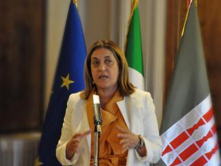 La Governatrice Catiuscia Marini