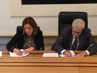 Catiuscia Marini e il ministro Gian Luca Galletti
