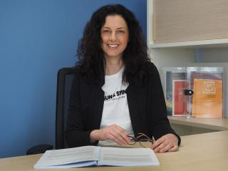 La professoressa Claudia Mazzeschi