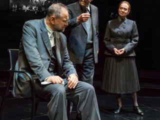 Massimo Popolizio, Umberto Orsini e Giuliana Lojodice