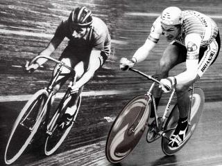 Fausto Coppi e Francesco Moser
