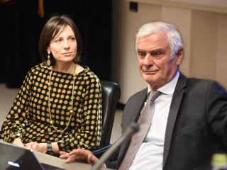 Cristina Colaiacovo e Giampiero Bianconi