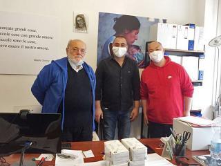 Giancarlo Pecetti, Paolo Schepis e Haibo Zhang