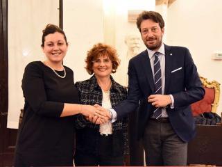 Elena Bistocchi, Edi Cicchi e Andrea Nasini