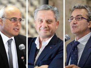 Fausto Elisei, Franco Cotana, Maurizio Oliviero