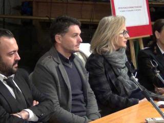 Da sinistra Granieri, Fisichella, Casaioli, Vitali