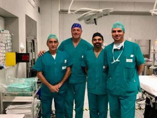 L'equipe maxillo facciale del dr. Fabrizio Spallaccia