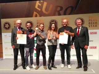 Birra Perugia premiata all'European Beer Star