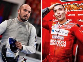 Alessio Foconi e Danilo Petrucci
