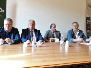 Walter Trivellizzi, Aldo Amoni, Nando Mismetti e Gianpiero Fusaro