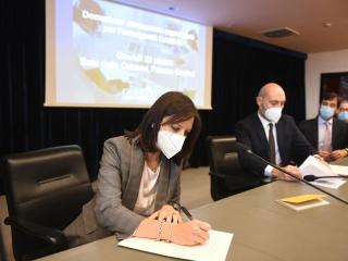 La firma della presidente Cristina Colaiacovo