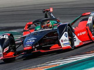 Auto di Formula E (foto da pagina Facebook ABB Formula E)
