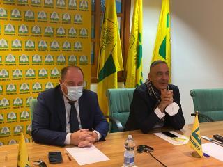 Il Presidente Agabiti e il Direttore Rossi - Coldiretti