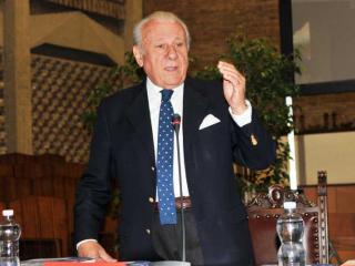 Il Magnifico Rettore Franco Moriconi