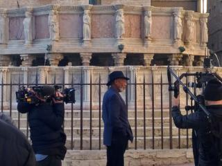 Morgan Freeman a Perugia