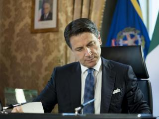 Il primo ministro Giuseppe Conte