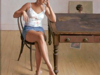 Harry Holland, olio su tela, 2006