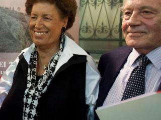 Carla Fendi e Giorgio Ferrara