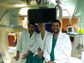 Equipe tecnica invasiva utero