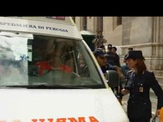 Ambulanza due tribunale