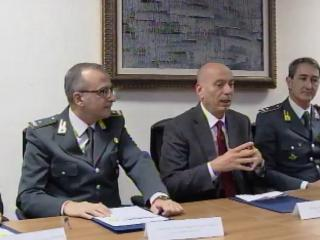 Conferenza stampa, sequestro beni camorra
