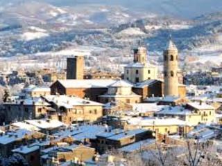 Città di Castello con la neve