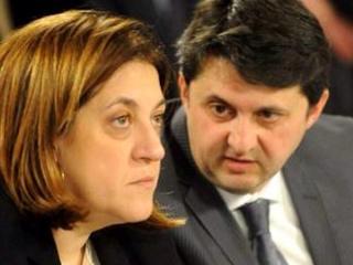 Presidente Marini e Assessore  Barberini