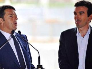 MAtteo Renzi, Ministro Martina