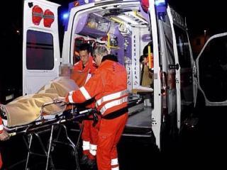 Ambulanza e barella