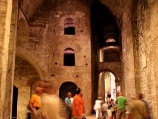 Rocca Paolina, interno