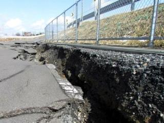 Strade terremoto