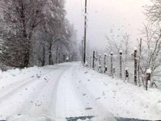 Paesaggio, neve
