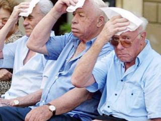 Caldo, anziani