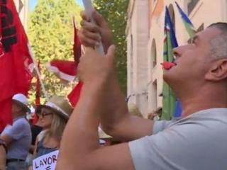 Laviratori Nestlè manifestano al MEF