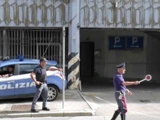 Polizia Pg via del macello