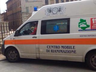 Ambulanza centro Pg