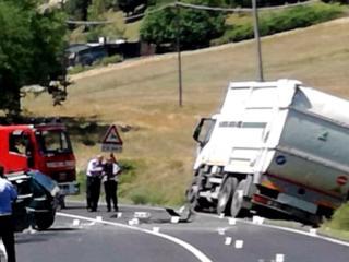 Incidente camion Gesenu